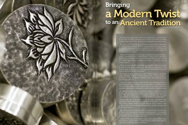 Commercial Photography Work for Angkor Magazine