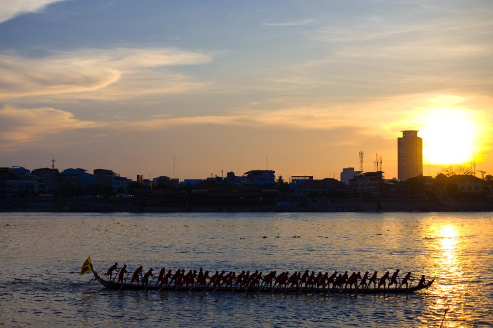 Cambodia's water festival