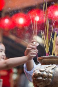 chinese new year wat phnom cambodia