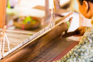 krama-weaving