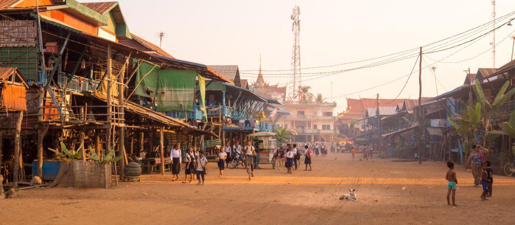 Kampong pluk village