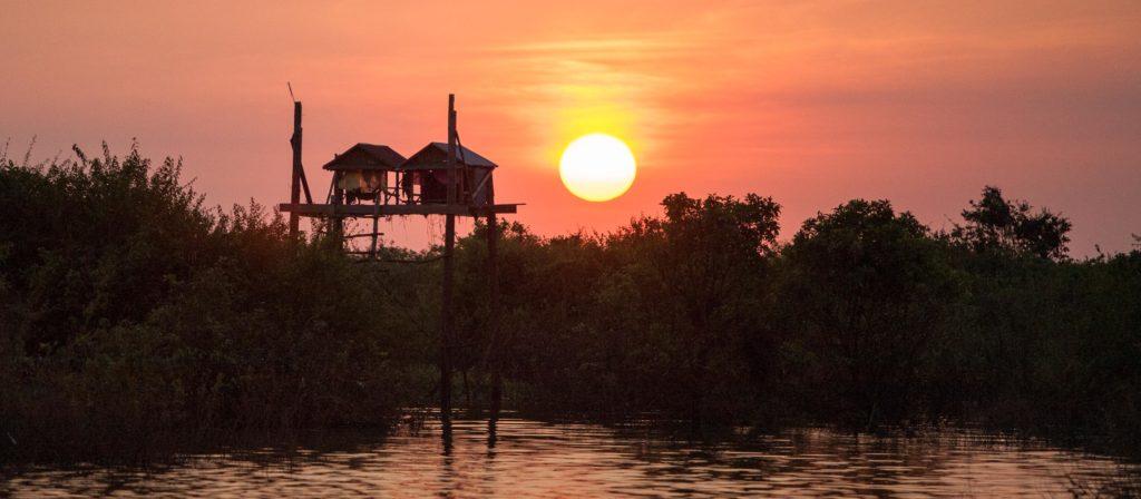 sunset kampong pluk