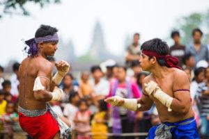 songkran khmer bokator