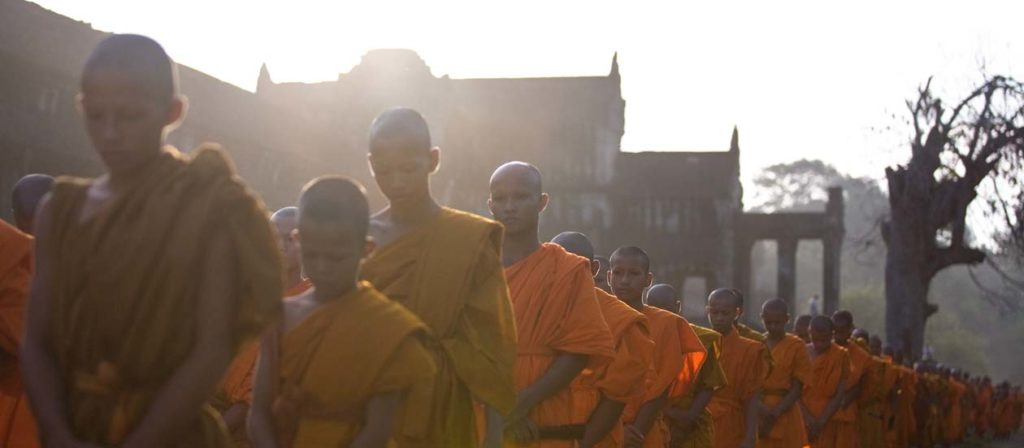 VISAKHA BUCHA DAY meditation angkor wat