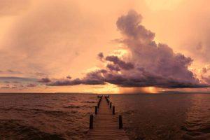 Kep sailing club sunset