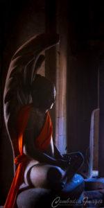 Bayon buddha naga