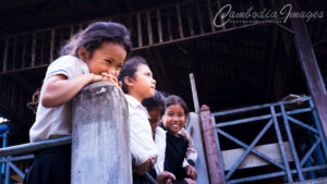 Kampong trach Cambodia children