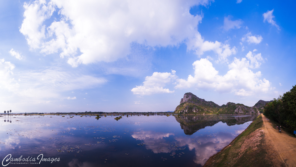 Kampong trach secret lake khmer rouge reservoir