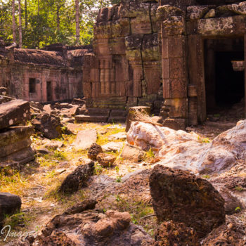 angkor part remote temple