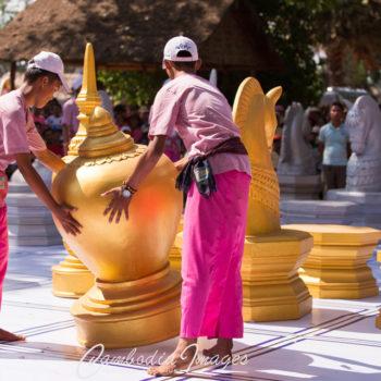 Giant chess at angkor sanktan 2017