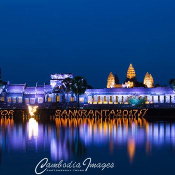 Angkor Wat lantern festival 2017 Sangkran