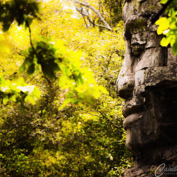 Buddha at bayonn angkor wat