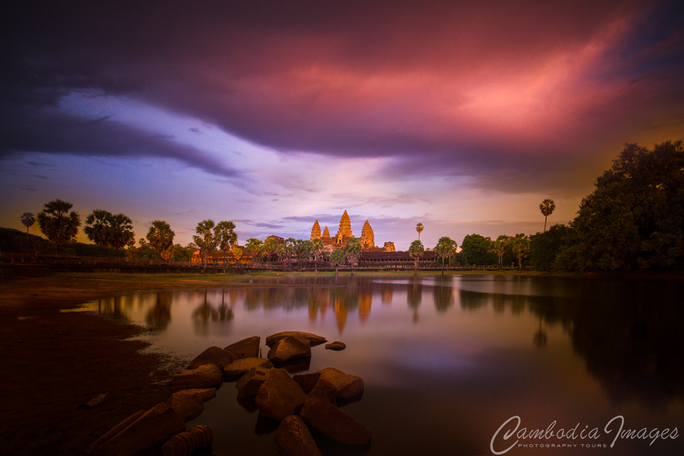 Angkor sunset_1
