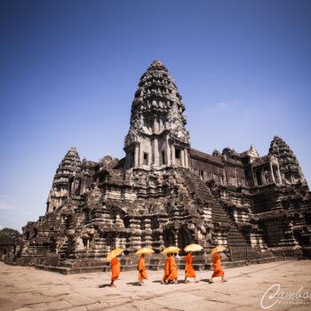 Monks of Angkor Wat