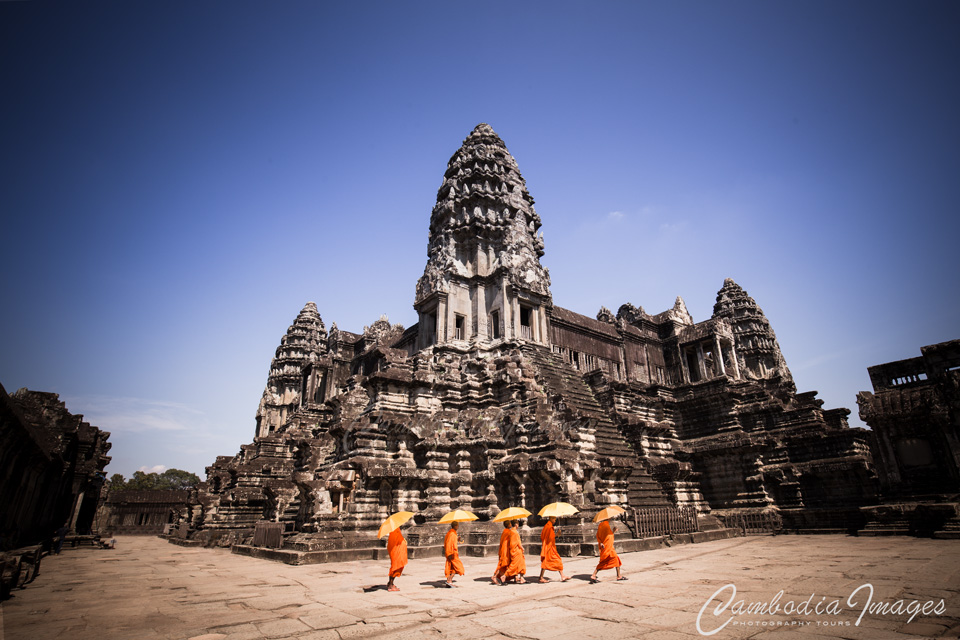 Monks of Angkor Wat