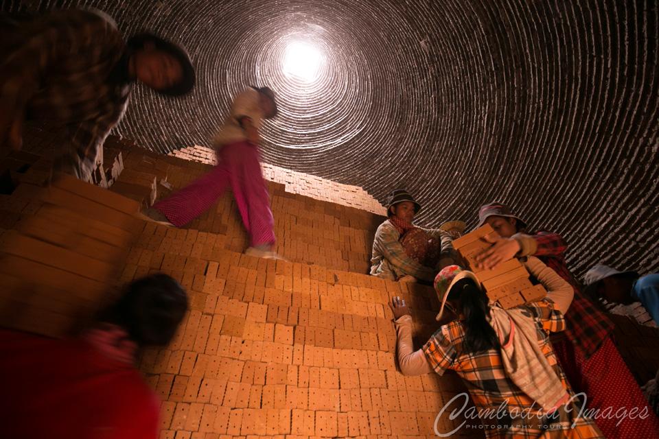 Brick Making in Cambodia